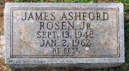 ROSEN, JAMES ASHFORD JR. - Buckingham County, Virginia | JAMES ASHFORD JR. ROSEN - Virginia Gravestone Photos