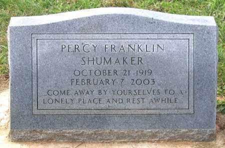 SHUMAKER, PERCY FRANKLIN - Buckingham County, Virginia   PERCY FRANKLIN SHUMAKER - Virginia Gravestone Photos