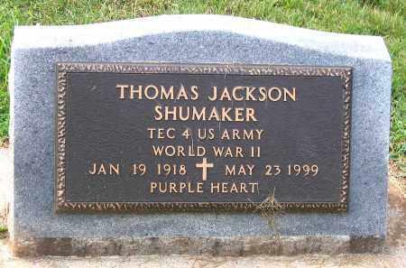 SHUMAKER, THOMAS JACKSON - Buckingham County, Virginia | THOMAS JACKSON SHUMAKER - Virginia Gravestone Photos
