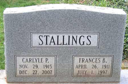STALLINGS, FRANCES B. - Buckingham County, Virginia | FRANCES B. STALLINGS - Virginia Gravestone Photos