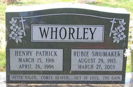 WHORLEY, RUBIE - Buckingham County, Virginia | RUBIE WHORLEY - Virginia Gravestone Photos
