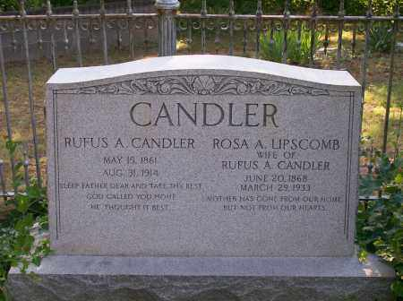 CANDLER, ROSA A. - Campbell County, Virginia | ROSA A. CANDLER - Virginia Gravestone Photos