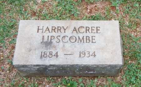 LIPSCOMB, HARRY ACREE - Campbell County, Virginia | HARRY ACREE LIPSCOMB - Virginia Gravestone Photos