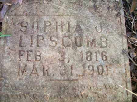LIPSCOMB, SOPHIA I. - Campbell County, Virginia   SOPHIA I. LIPSCOMB - Virginia Gravestone Photos