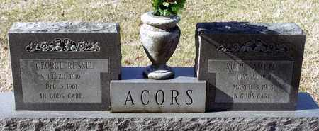 ACORS, RUTH - Caroline County, Virginia   RUTH ACORS - Virginia Gravestone Photos