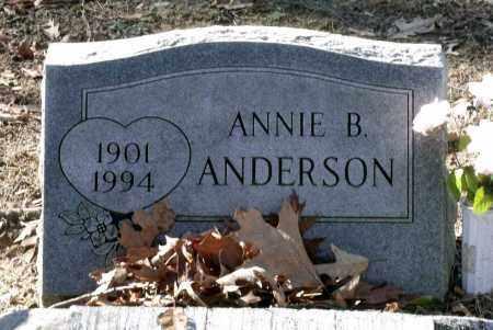 ANDERSON, ANNIE B. - Caroline County, Virginia   ANNIE B. ANDERSON - Virginia Gravestone Photos