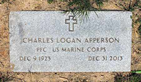 APPERSON, CHARLES LOGAN - Caroline County, Virginia | CHARLES LOGAN APPERSON - Virginia Gravestone Photos