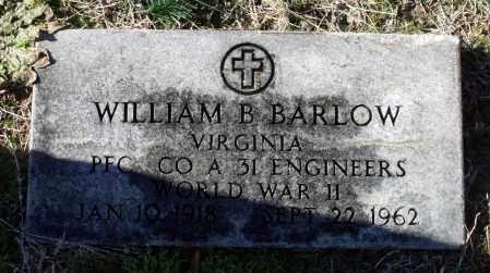 BARLOW, WILLIAM B. - Caroline County, Virginia | WILLIAM B. BARLOW - Virginia Gravestone Photos