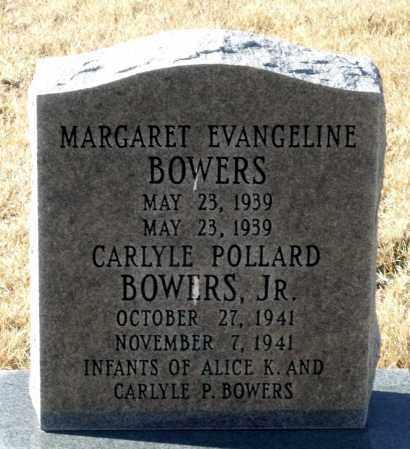 BOWERS, MARGARET EVANGELINE - Caroline County, Virginia   MARGARET EVANGELINE BOWERS - Virginia Gravestone Photos