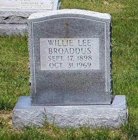 BROADDUS, WILLIE LEE - Caroline County, Virginia | WILLIE LEE BROADDUS - Virginia Gravestone Photos