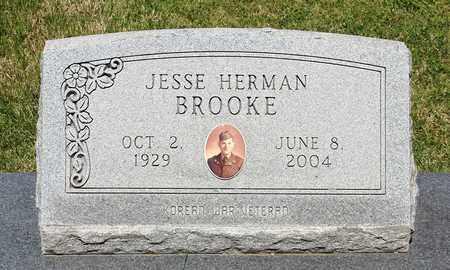 BROOKE, JESSE HERMAN - Caroline County, Virginia | JESSE HERMAN BROOKE - Virginia Gravestone Photos