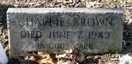 BROWN, CHARLIE - Caroline County, Virginia | CHARLIE BROWN - Virginia Gravestone Photos