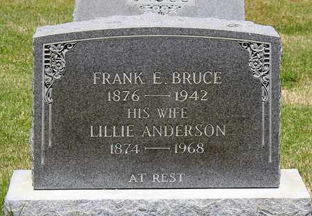 ANDERSON BRUCE, LILLIE - Caroline County, Virginia | LILLIE ANDERSON BRUCE - Virginia Gravestone Photos