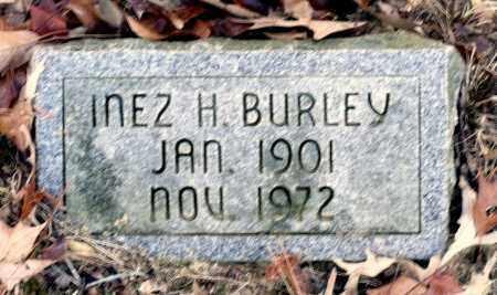 BURLEY, INEZ H. - Caroline County, Virginia   INEZ H. BURLEY - Virginia Gravestone Photos