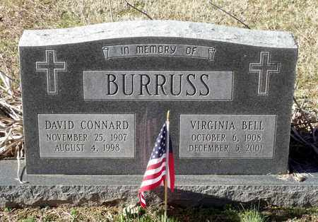 BURRUSS, DAVID CONNARD - Caroline County, Virginia   DAVID CONNARD BURRUSS - Virginia Gravestone Photos