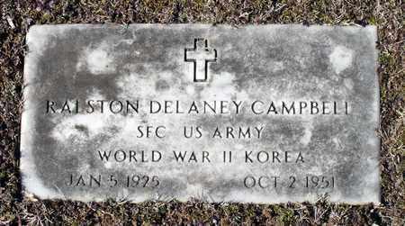 CAMPBELL, RALSTON DELANEY - Caroline County, Virginia   RALSTON DELANEY CAMPBELL - Virginia Gravestone Photos