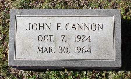 CANNON, JOHN F. - Caroline County, Virginia | JOHN F. CANNON - Virginia Gravestone Photos