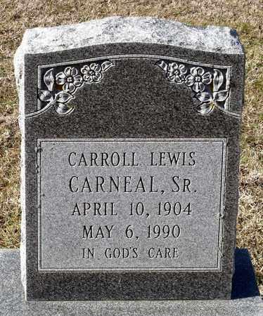 CARNEAL, CARROLL LEWIS SR. - Caroline County, Virginia | CARROLL LEWIS SR. CARNEAL - Virginia Gravestone Photos