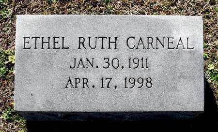 CARNEAL, ETHEL RUTH - Caroline County, Virginia | ETHEL RUTH CARNEAL - Virginia Gravestone Photos