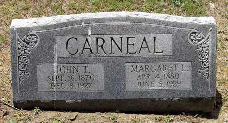 CARNEAL, MARGARET L. - Caroline County, Virginia | MARGARET L. CARNEAL - Virginia Gravestone Photos