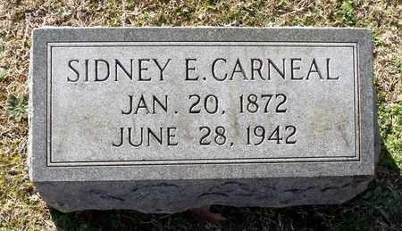 CARNEAL, SIDNEY E. - Caroline County, Virginia   SIDNEY E. CARNEAL - Virginia Gravestone Photos