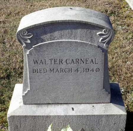 CARNEAL, WALTER - Caroline County, Virginia | WALTER CARNEAL - Virginia Gravestone Photos