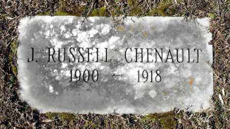CHENAULT, JAMES RUSSELL - Caroline County, Virginia | JAMES RUSSELL CHENAULT - Virginia Gravestone Photos