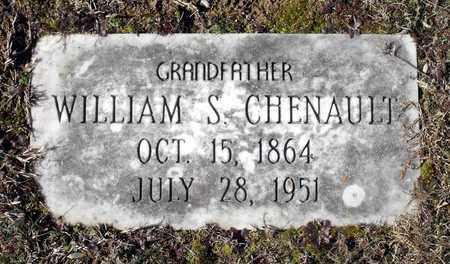 CHENAULT, WILLIAM SHEPHERD - Caroline County, Virginia | WILLIAM SHEPHERD CHENAULT - Virginia Gravestone Photos