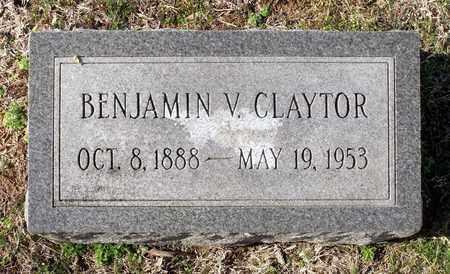 CLAYTOR, BENJAMIN V. - Caroline County, Virginia | BENJAMIN V. CLAYTOR - Virginia Gravestone Photos