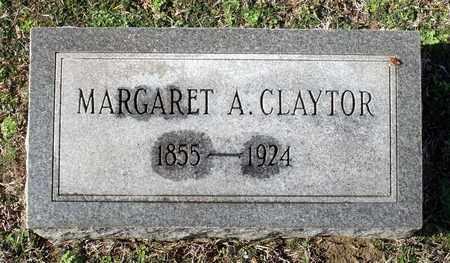 CLAYTOR, MARGARET A. - Caroline County, Virginia   MARGARET A. CLAYTOR - Virginia Gravestone Photos