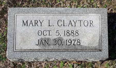CLAYTOR, MARY L. - Caroline County, Virginia   MARY L. CLAYTOR - Virginia Gravestone Photos