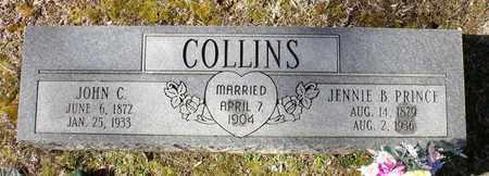 PRINCE COLLINS, JENNIE B. - Caroline County, Virginia | JENNIE B. PRINCE COLLINS - Virginia Gravestone Photos