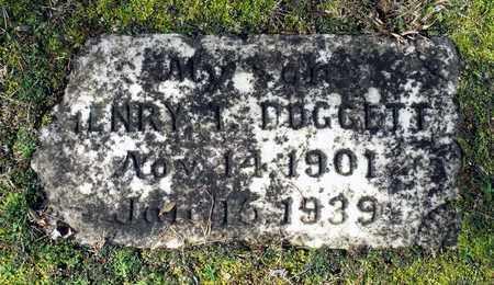 DOGGETT, HENRY T. - Caroline County, Virginia | HENRY T. DOGGETT - Virginia Gravestone Photos