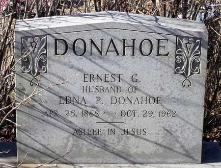 DONAHOE, ERNEST G. - Caroline County, Virginia   ERNEST G. DONAHOE - Virginia Gravestone Photos