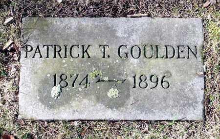 GOULDEN, PATRICK T. - Caroline County, Virginia   PATRICK T. GOULDEN - Virginia Gravestone Photos