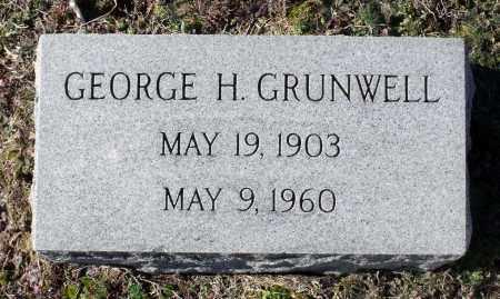 GRUNWELL, GEORGE H. - Caroline County, Virginia | GEORGE H. GRUNWELL - Virginia Gravestone Photos
