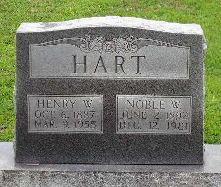 HART, NOBLE W. - Caroline County, Virginia | NOBLE W. HART - Virginia Gravestone Photos