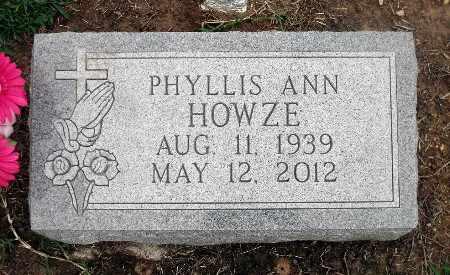 HOWZE, PHYLLIS ANN - Caroline County, Virginia   PHYLLIS ANN HOWZE - Virginia Gravestone Photos