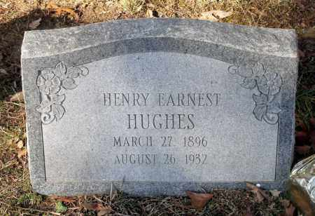 HUGHES, HENRY ERNEST - Caroline County, Virginia | HENRY ERNEST HUGHES - Virginia Gravestone Photos