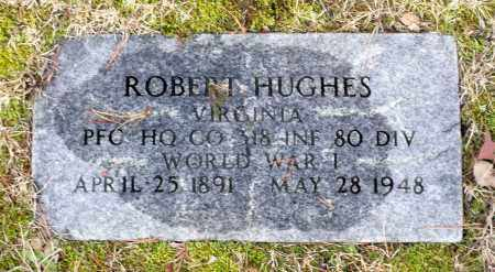 HUGHES, ROBERT S. - Caroline County, Virginia | ROBERT S. HUGHES - Virginia Gravestone Photos