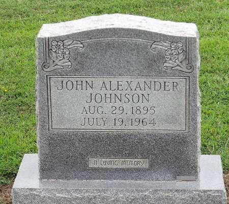 JOHNSON, JOHN ALEXANDER - Caroline County, Virginia | JOHN ALEXANDER JOHNSON - Virginia Gravestone Photos