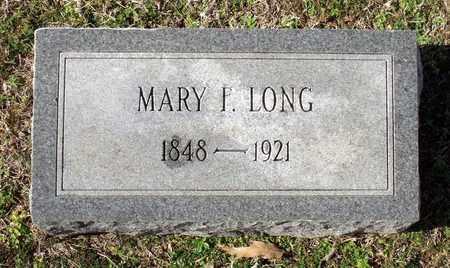 LONG, MARY F. - Caroline County, Virginia   MARY F. LONG - Virginia Gravestone Photos
