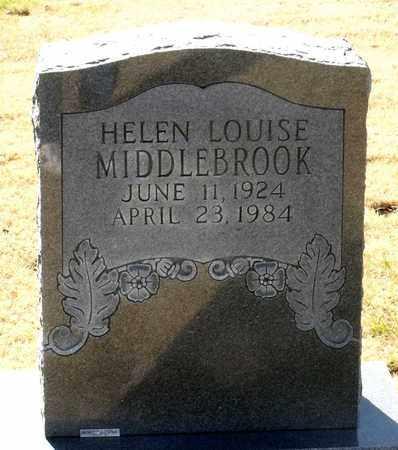 MIDDLEBROOK, HELEN LOUISE - Caroline County, Virginia | HELEN LOUISE MIDDLEBROOK - Virginia Gravestone Photos