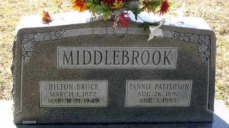 MIDDLEBROOK, FANNIE - Caroline County, Virginia   FANNIE MIDDLEBROOK - Virginia Gravestone Photos