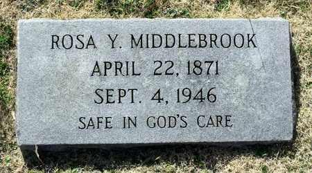 MIDDLEBROOK, ROSA Y. - Caroline County, Virginia | ROSA Y. MIDDLEBROOK - Virginia Gravestone Photos