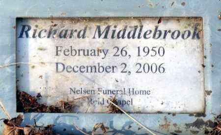 MIDDLEBROOK, RICHARD - Caroline County, Virginia | RICHARD MIDDLEBROOK - Virginia Gravestone Photos