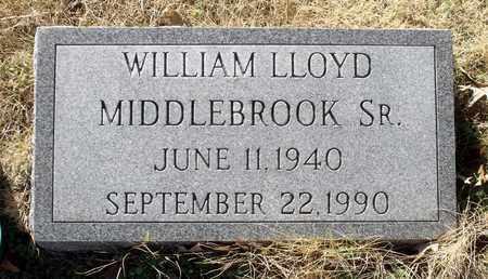 MIDDLEBROOK, WILLIAM LLOYD SR. - Caroline County, Virginia | WILLIAM LLOYD SR. MIDDLEBROOK - Virginia Gravestone Photos
