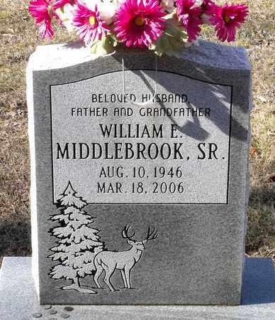 MIDDLEBROOK, WILLIAM E. SR. - Caroline County, Virginia   WILLIAM E. SR. MIDDLEBROOK - Virginia Gravestone Photos