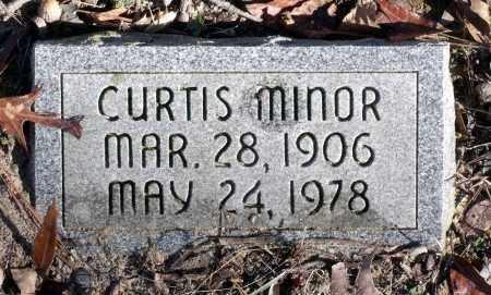 MINOR, CURTIS - Caroline County, Virginia   CURTIS MINOR - Virginia Gravestone Photos