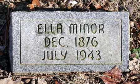 MINOR, ELLA - Caroline County, Virginia | ELLA MINOR - Virginia Gravestone Photos